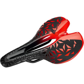 Supacaz Ignite Ti Zadel, red